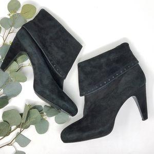 FRANCO SARTO Heeled Leather Booties 9.5M